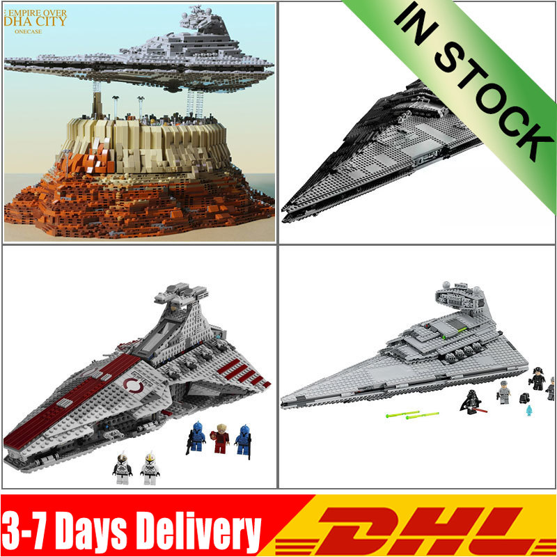 IN Stock DHL Star War The Imperial Super Star Destroyer Set Building Blocks Bricks Compatible Legoinglys 05062 05042 75055 81098