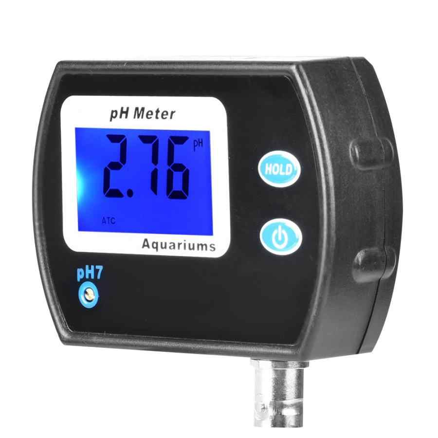 Ph מטר Ph-990 נייד LCD הדיגיטלי PH מטר חומציות מטר מנתח אקווריום בריכת מים צג PH מדידת כלי