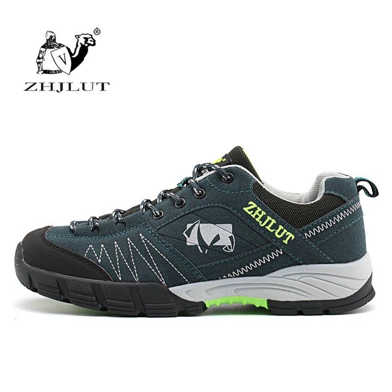 ZHJLUT Männer Hohe Qualität Wandern Schuhe Berg Trekking Sport Anti-slip Atmungs Jogging Schuhe Weiche Wandern Schuhe Männer Turnschuhe