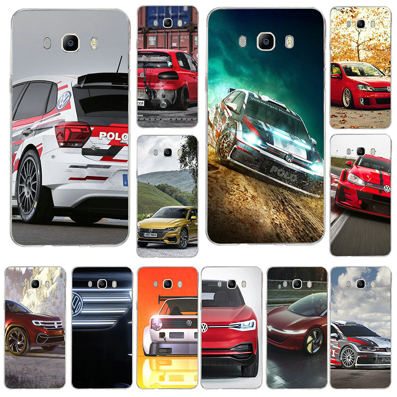 VW Volkswagen Golf Gti For Samsung Galaxy J3 J4 J6 J8 A7 A8 A9 2018 A10 A20 A30 A40 A50 A60 A70 A80 A90 Soft Phone <font><b>Cases</b></font> image