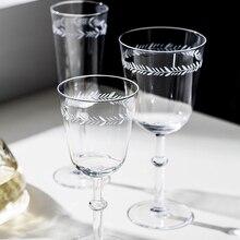 Ретро лазерное стекло с гравировкой Шампань стеклянный бокал для вина, кружка свадебное стекло es питьевой домашний декор отель посуда для вечеринки