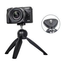 ขาตั้งกล้องขนาดเล็กแทนที่เช่น Manfrotto Pixi สิ่งที่ถูกต้องสำหรับ a7r a7m2 a6300 A7RIII QX1 a6500 สำหรับ iPhone X 8 7
