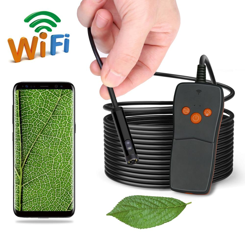 8mm 1/2/3/5M Dual Camera (Front Camera and Side View Camera ) WIFI Endoscope Pipe Endoscope Borescope  Android For Android PC