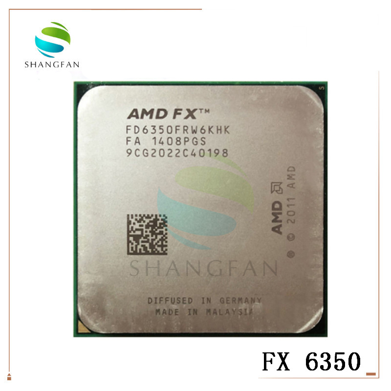 AMD FX-Series FX-6350 FX 6350 3.9 GHz Six-Core CPU Processor FD6350FRW6KHK Socket AM3+