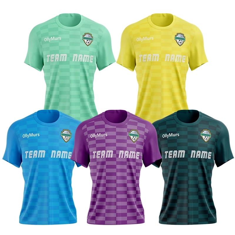 Wholesale China Sublimation Latest Design Thai Quaity Cheap Blank Soccer Jersey Football Shirt Team Wear Uniform