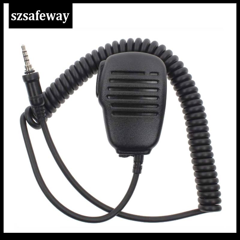Microphone Handheld Shoulder Speaker Mic For Yaesu Vertex VX-6R VX-7E VX-7R VX-120 VX-170 Walkie Talkie