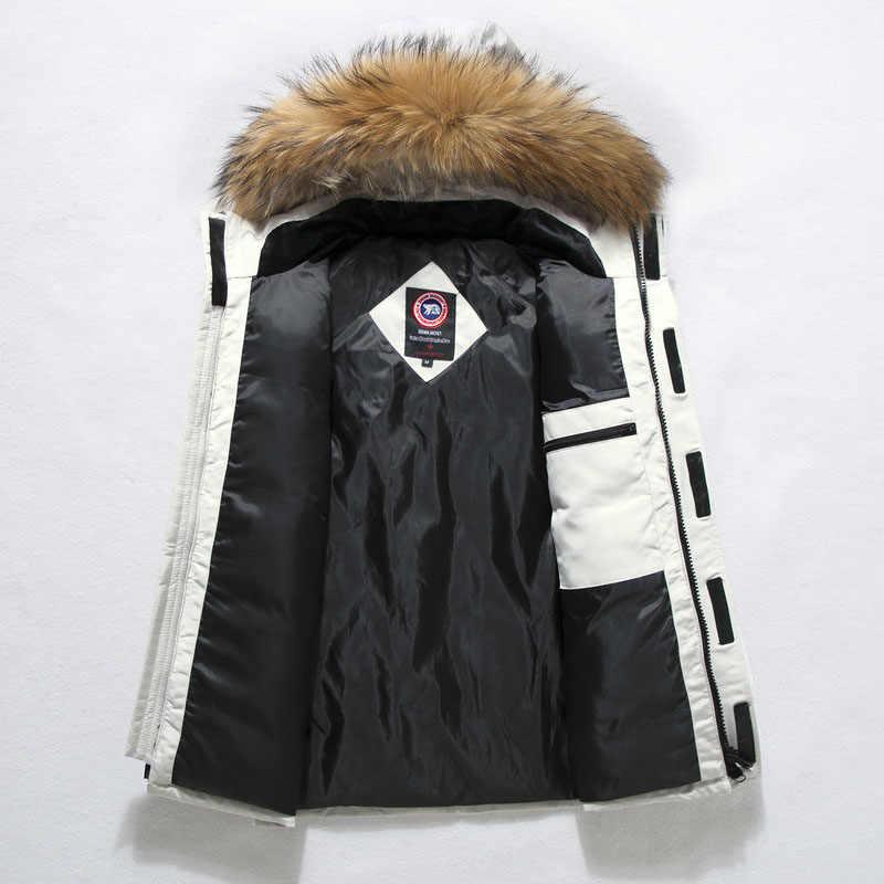 2019 雪の冬ジャケットコートカレッジダウンパーカーガチョウドロップシッピング極端な気象生き抜くジッパー