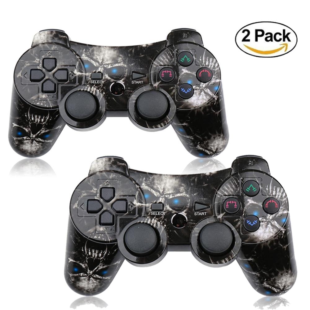10 pçs/caixa para ps2 controlador sem fio pc gamepad para playstation3 controlador dmx joystick & game controlador mini usb com fio gamepad - 2