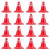 TODDMOMY 30pcs Miniature Traffic Cones Mini Roadblock Traffic Signs for Children