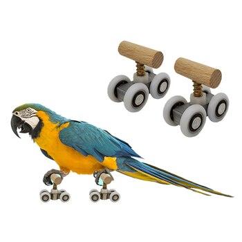 Adjustable Parrot Roller Skater