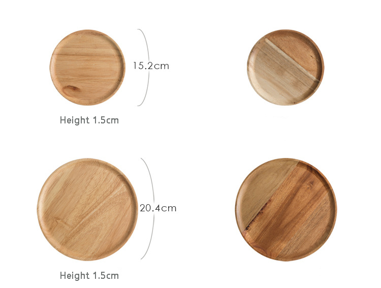 Wood-Serving-Tray-Round-Dessert-Plate-Tea-Coffee-Toast-Plates-Desserts-Wooden-Fruit-Food-Display-Platter-Home-Table-Decor-07