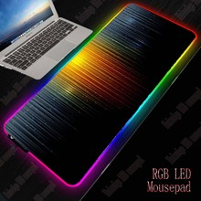 XGZ Abstract Gaming RGB Large Mouse Pad Gamer Big Mouse Mat Computer Mousepad Led Backlight XXL Mause Pad Keyboard Desk Mat xgz nebula rgb large gaming starry mouse pad gamer led computer pad big mat with backlight for keyboard desk