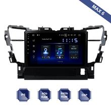 Dasaita 10 2 #8222 ekran IPS Android 10 Radio samochodowe 1 Din dla Toyota Alphard 2015 2016 2017 2018 Multimedia GPS HDMI DSP RDS BT WIFI tanie tanio YONGHANG Jeden Din 10 2 4*50W Other System operacyjny Android 10 0 Jpeg Dasaita player for Toyota Alphard 2015-2018 1024*600