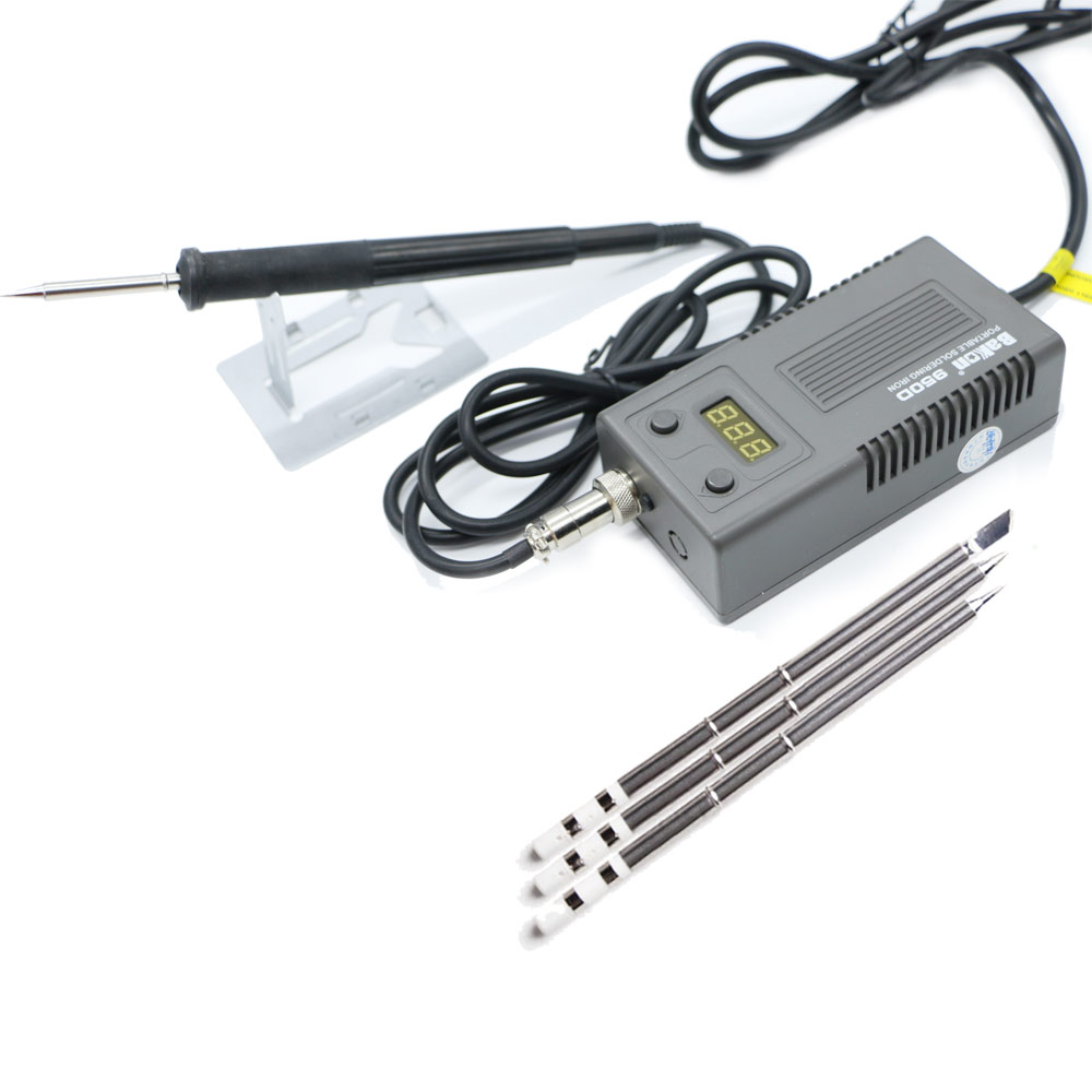 Bakon BK950D Welding Solder Soldering Iron 220/110 50W Internal Heating Type Welding Tool Trinity Digital Display And T13 Heater