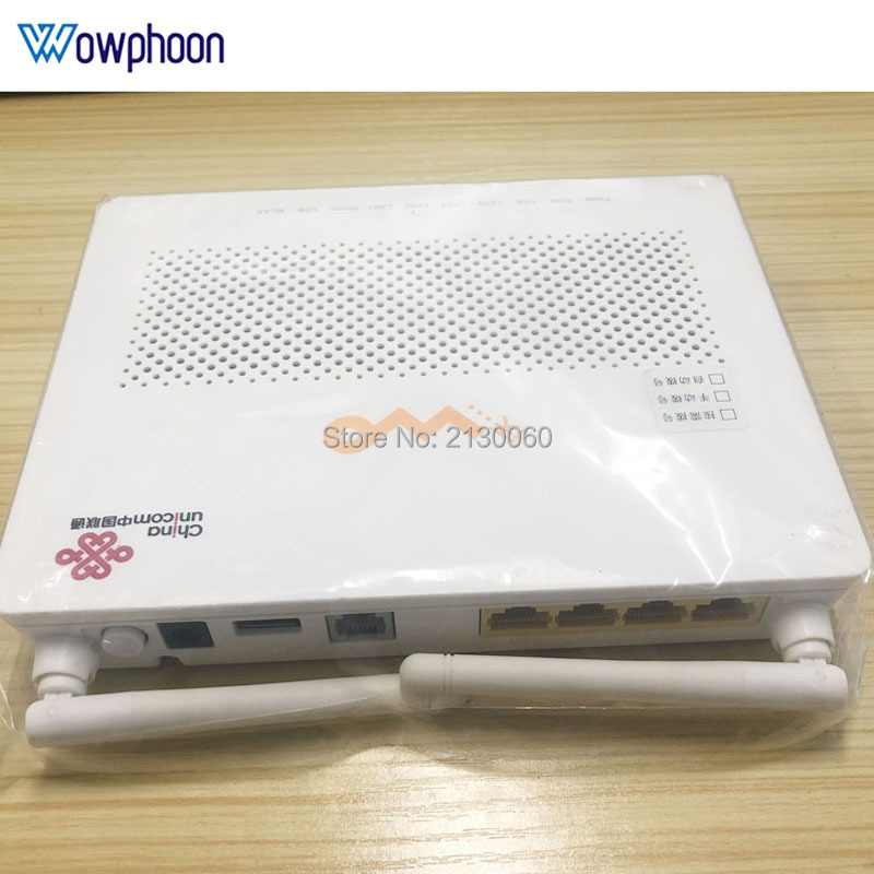 Huawei Epon Onu HG8347R 1GE+3FE+1TEL+USB+wifi, Second Hand 99% New HG8347R English Version Ftth Epon Ont Modem