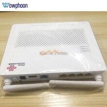 Huawei epon onu HG8347R 1GE + 3FE + 1TEL + USB + wifi, ikinci el 99% yeni HG8347R İngilizce sürüm ftth epon ont modem