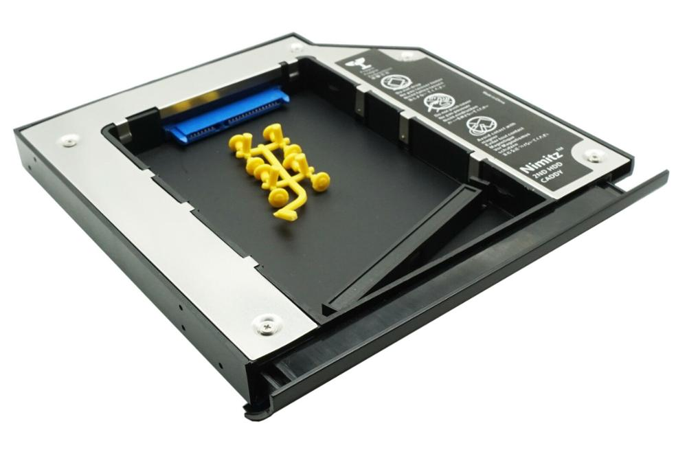 New Dedicated 2nd HDD SSD Caddy For HP Probook 6460b 6465b 6470b 6475b Hard Drive Case With Bezel