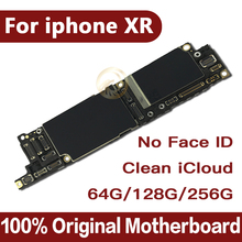 Sbloccato di fabbrica per iphone xr scheda madre senza Face ID, trasporto iCloud per iphone XR Mainboard con IOS Sistema di Scheda Logica