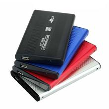 External USB 2.0 2.5inch SATA SSD HDD Enclosure Mobile Hard Disk Drive Case Box