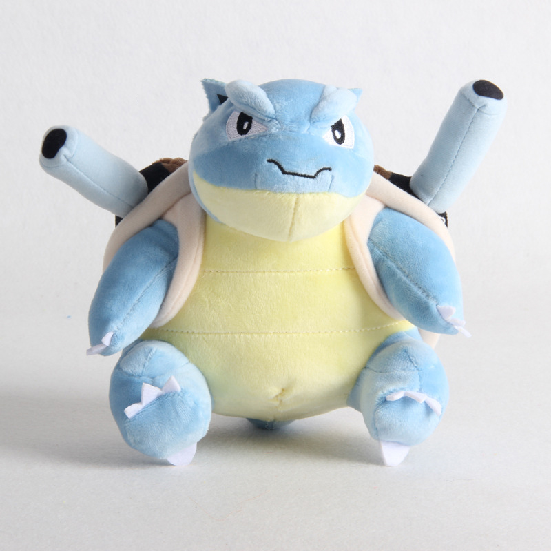 1pcs 20cm Blastoise Plush Toys Doll Soft Stuffed Peluches Cartoon Animals Toys Gifts For Kids Children