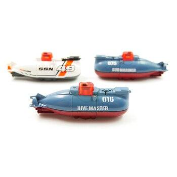 цена на Create Toys Speed Radio Remote Control Submarine Electric Mini RC Submarine For Kids Children Pigboat Toy  Simulation Model Gift