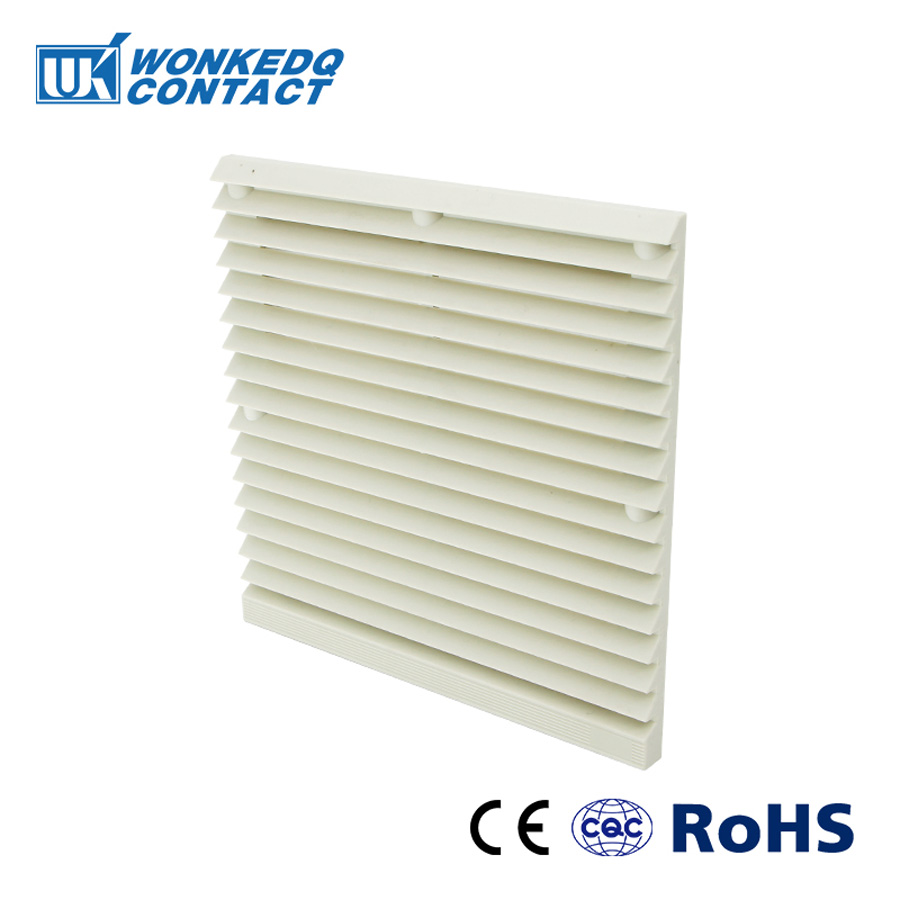 Cabinet  Ventilation Filter Set Shutters Cover  Fan Grille Louvers Blower Exhaust Fan Filter FK-3323-230 Filter With Fan