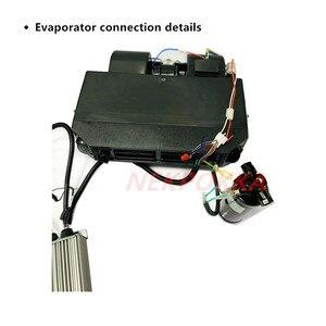 Image 2 - ใหม่พลังงานยานพาหนะไฟฟ้าคอมเพรสเซอร์เครื่องทำความเย็น,รุ่นอัพเกรดรถยนต์ไฟฟ้า 12V 24V