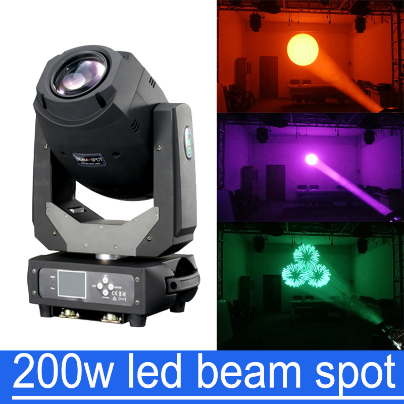 200W LED Lyre Moving Head Light Beam Spot 2in1 Light Party Light DJ stage light night club