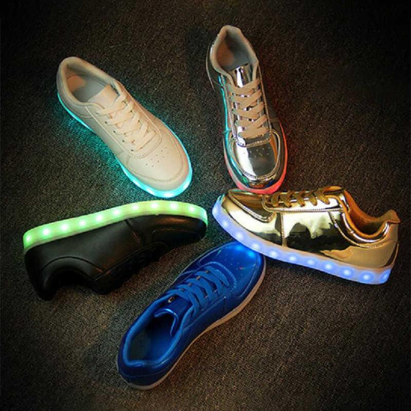 EUR 31 46 Luminous Sneakers USB Charge