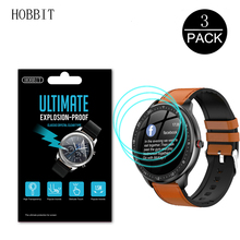 3Pack TPU Film For Lemfo 2020 New Smart Watch Film Screen Protector Anti-scratch Anti-bubbles Smartwatch Film for lemfo