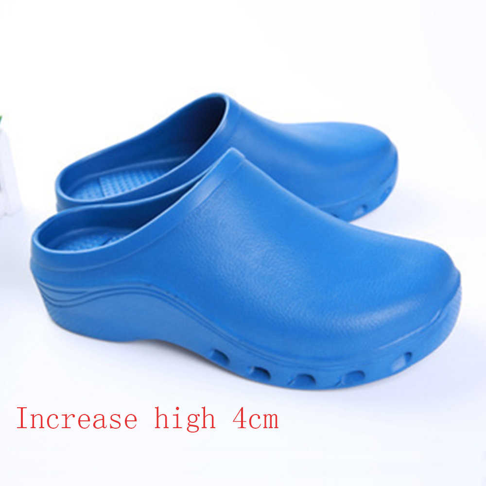 Heightening Shoes Medical Surgical Shoes Nursing Clogs Medicals Slippers Nurses Clogs Hospital Lab Cleaning Protective Slippers
