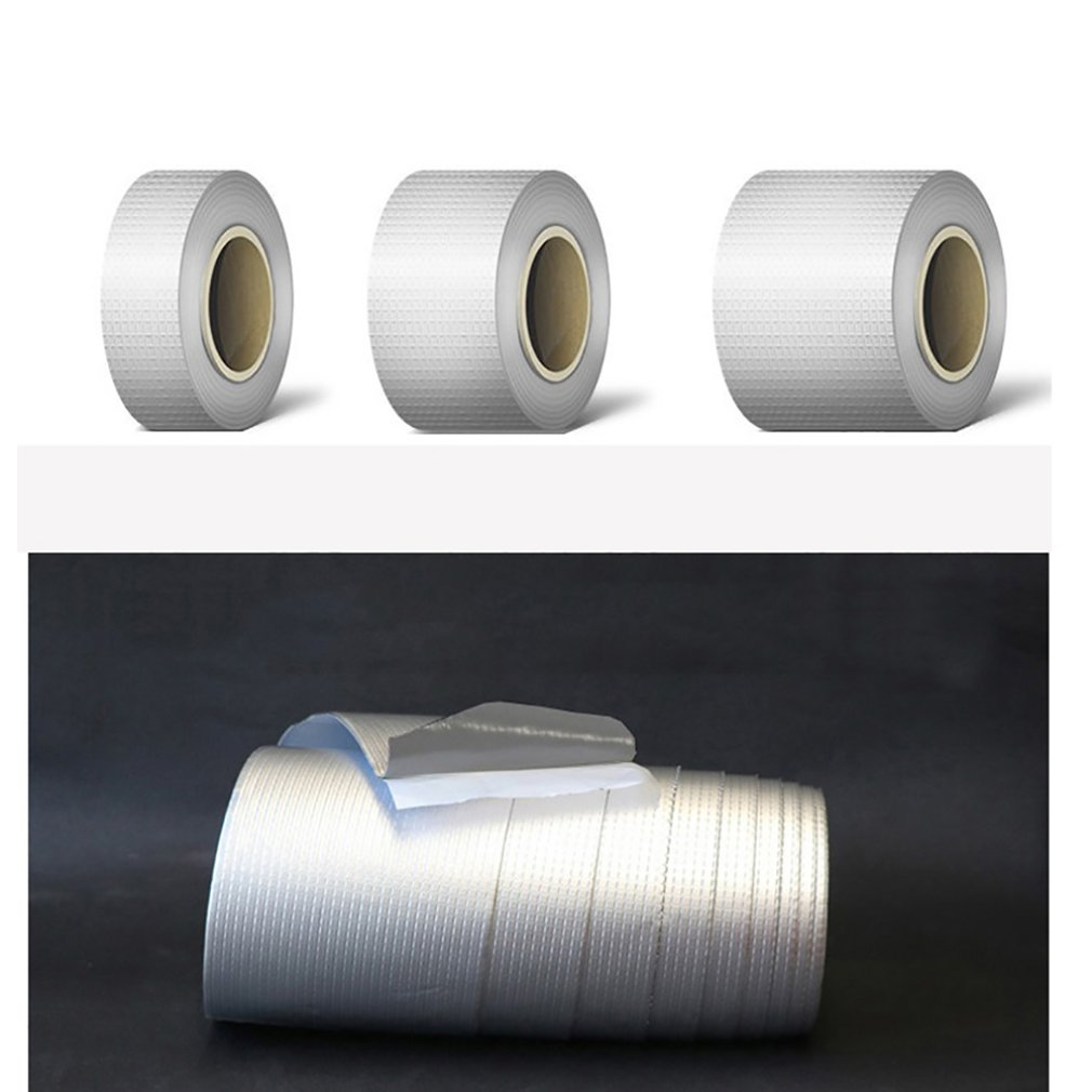 Butyl Waterproof Tape Iron Tile Trapping Roof Trapping Butyl Self-Adhesive Tape Aluminum Foil Self-Adhesive Tape Double