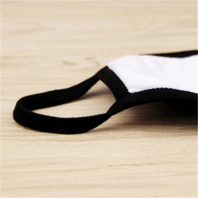 Black Windproof Face Masks Anti-Dust Cycling Respirator Cotton mouth Face Mask Proof Flu Face Masks Lovely Cat Mouth Mask Muffle 2