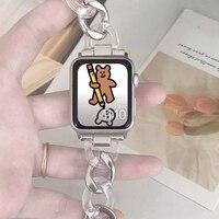 Harz strap Für Apple Uhr 38mm 40mm band iwatch Serie 5 4 3 2 1 Handgelenk Für uhr zubehör 42mm 44mm armband Ersatz