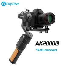 FeiyuTech – AK2000C stabilisateur de caméra à cardan 3 axes, plaque de dégagement pliable, DSLR, utilisé pour Canon Sony Panasonic Nikon