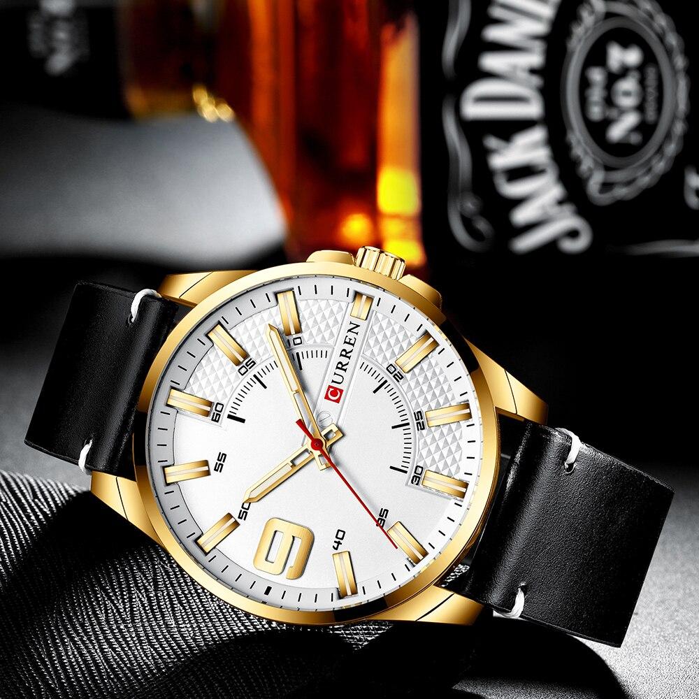 H3b7ed5704f8a495f91108a83a18a5fff8 Top Brand Luxury Business Watch Men CURREN Watches
