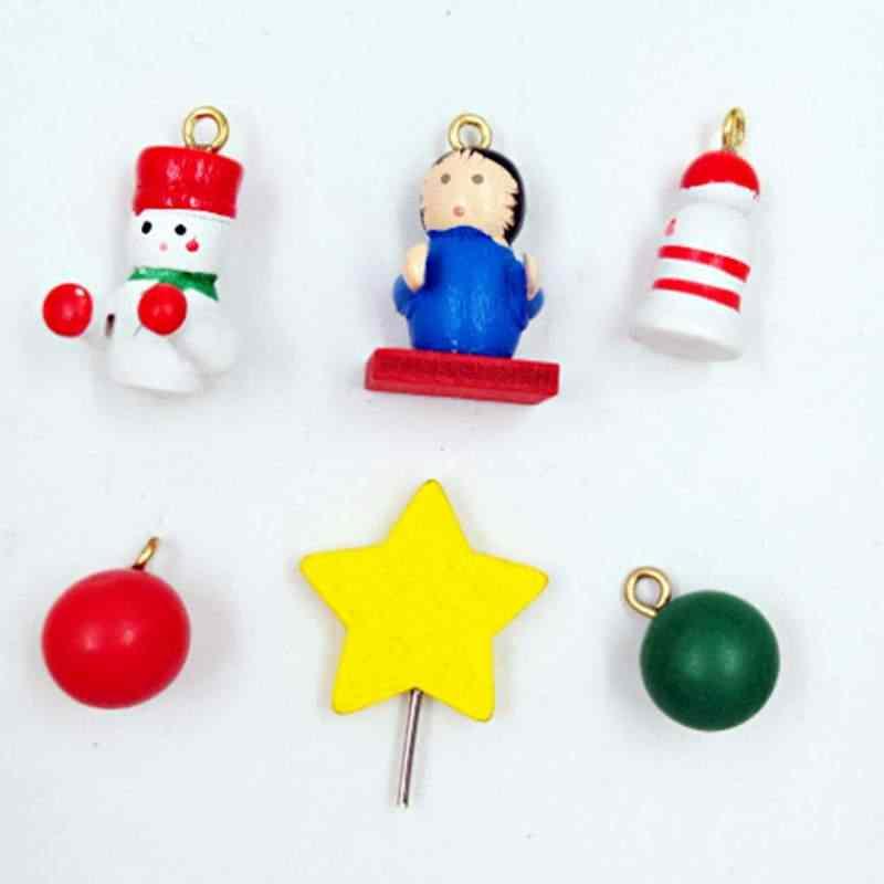 Рождественский деревянный календарь Обои для рабочего стола мультфильм старый