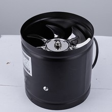 4 Polegada inline duto ventilador de ar ventilação tubo de metal ventilador exaustão mini extrator banheiro banheiro ventilador de parede duto acesso