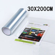 1 rolo de luz transparente carro protetor filme vinil pára-choques capa pintura proteção alta temperatura e proteção uv 200*30cm