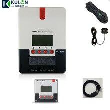 SRNE 20A MPPT ML2420 ЖК-дисплей 12 В 24 В Авто Солнечная батарея для телефона регулятор зарядного устройства с температурным кабелем и RS232 BT-1 RM-5