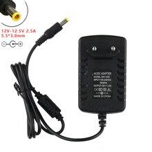 12V 12.5V 2.5A 5.5*3.0 Mm Với Pin AC/DC Adapter Dành Cho Sony SRS X5 di Động NFC Bluetooth Không Dây Thay Thế Dây Nguồn