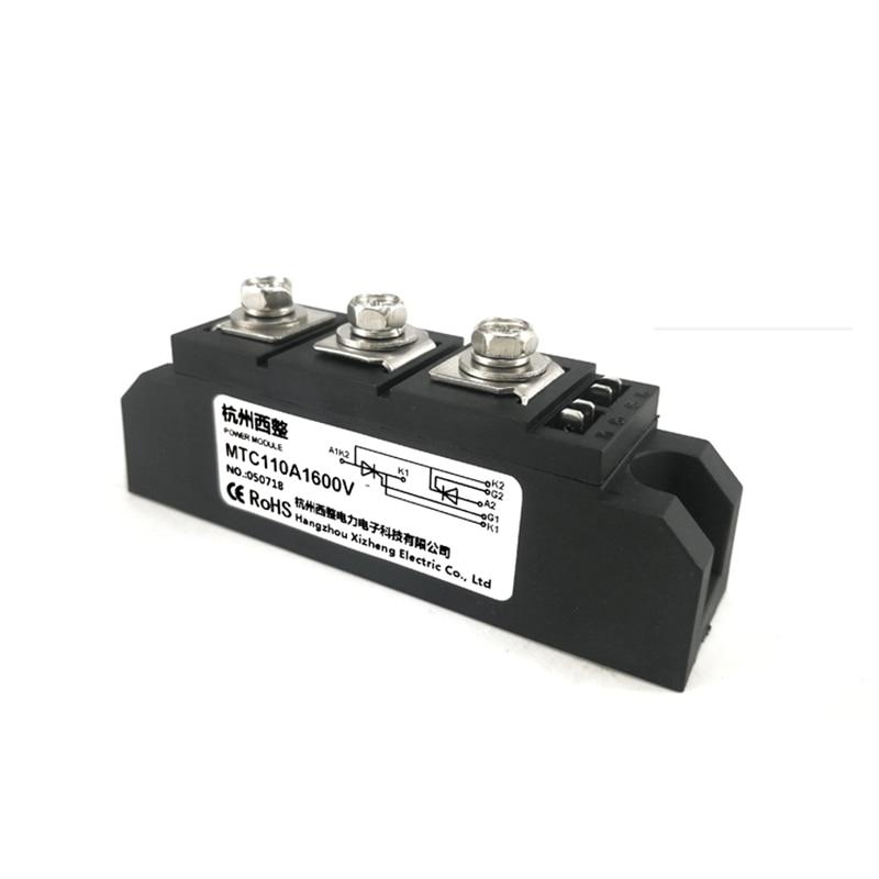 MTC110A1600V MTC110A1800V MTC110A2000V  Thyristor Module MTC110A 1600V Soft Starter Voltage Regulator Trigger Board MTX110