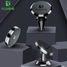 Floveme 3 tipo magnético titular do telefone carro ímã suporte para o telefone no carro de montagem para xiaomi redmi note7 para iphone x titular