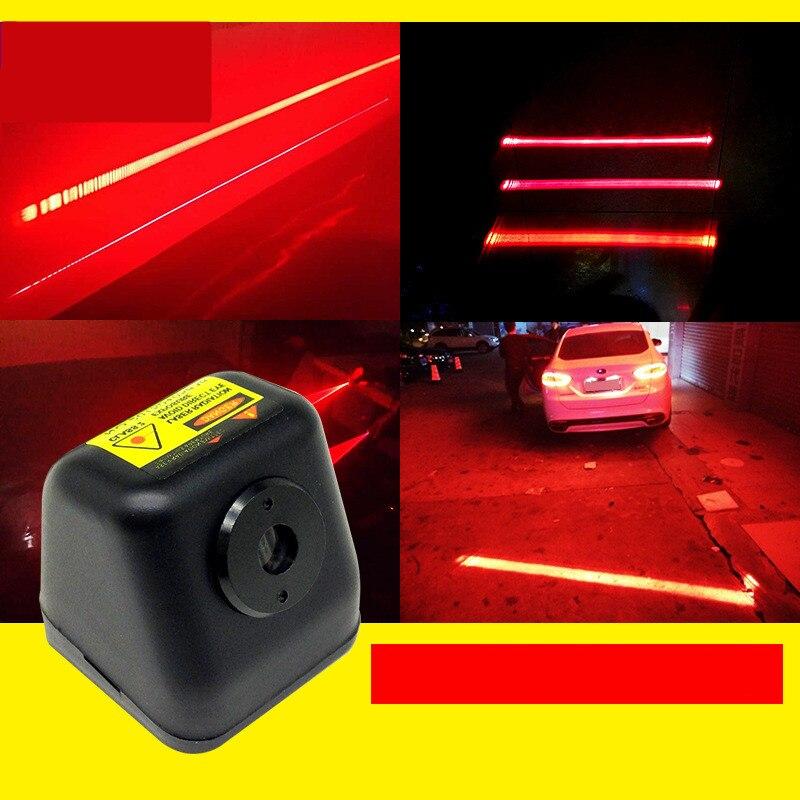 Auto Laser Schwanz Licht Foglight Anti Kollision Rücklicht Lampe Universal LED Rücklicht Brems Parkplatz Signal Warnung Lampen