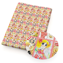 50*140cm Character Printed 100% Cotton Fabric for Tissue Kids Home Textile for Sewing Doll Clothes Wedding Dress,1Yc11610