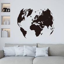 colorful world map wall decor 150x225cm large world map office supplies detailed antique poster wall chart for culture supplies Large World Map Global Earth Wall Decal Office Classroom Travel World Map Earth Wall Sticker Kids Room Bedroom Vinyl Home Decor