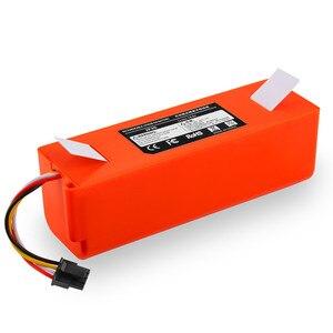 Высокое качество 6500mAh Li-Ion 14,4 V аккумуляторная батарея для xiaomi mi робот пылесос roborock S50 S51 Бесплатная доставка