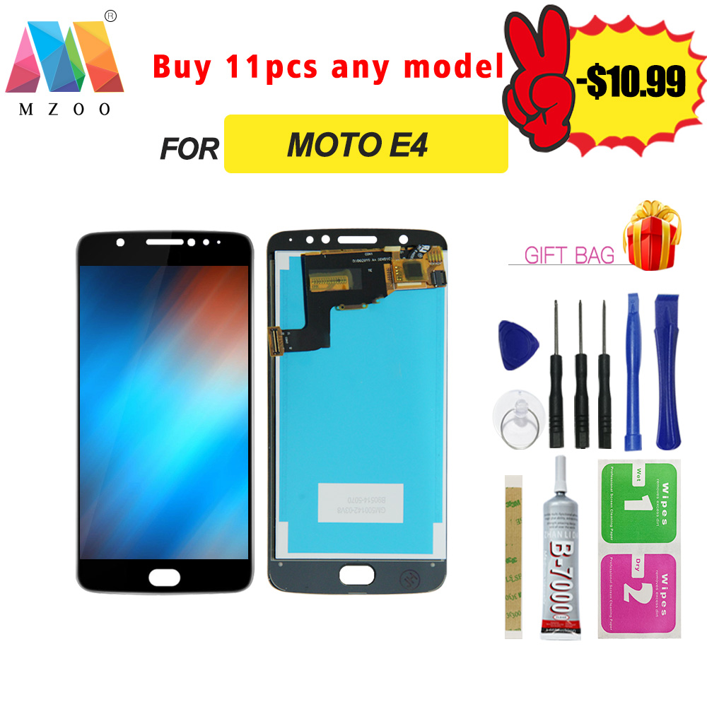 High Quality <font><b>LCD</b></font> For Motorola Moto E4 XT1766 XT1763 <font><b>XT1762</b></font> <font><b>LCD</b></font> Display Sreen Touch Digitizer Replacement Assembly Panel Parts image