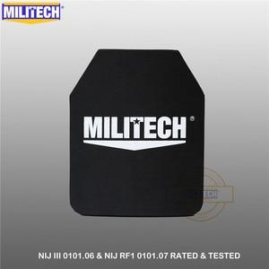 Image 4 - Kuloodporna płyta kuloodporna NIJ III + 0101.06/NIJ 0101.07 RF1 czysta PE 10x12 cali 2 szt. Kamizelka kuloodporna M80 i AK47 i M193 Militech