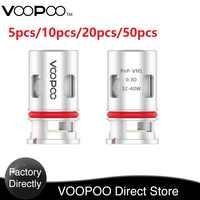 In stock 5-50pcs !VOOPOO PnP-VM1 Mesh Coil for VINCI Kit With the  PnP-VM1 0.3ohm Mesh Coil for your Pod E-Cigerette  Vape Coil